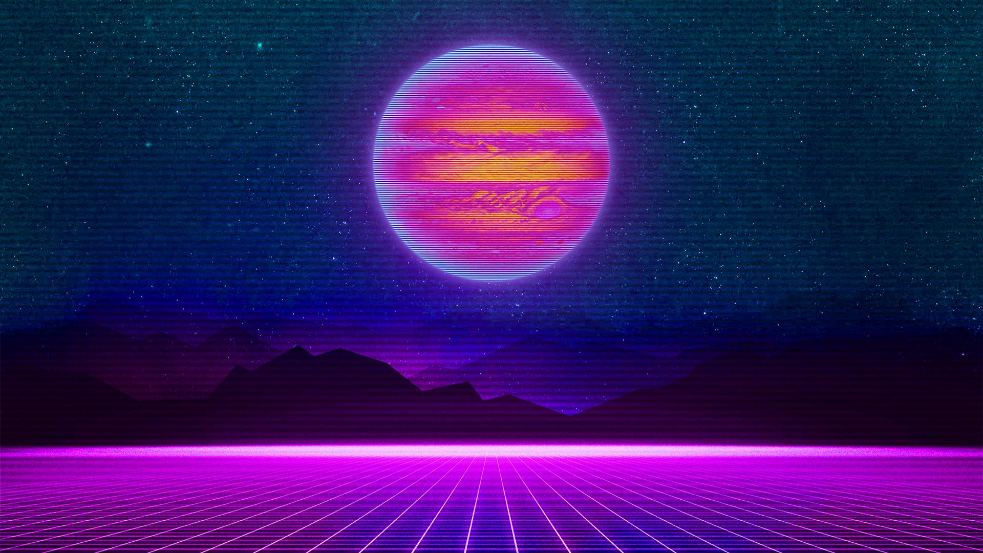 Retro Wave Wallpapers   Top Retro Wave Backgrounds 1920x1080