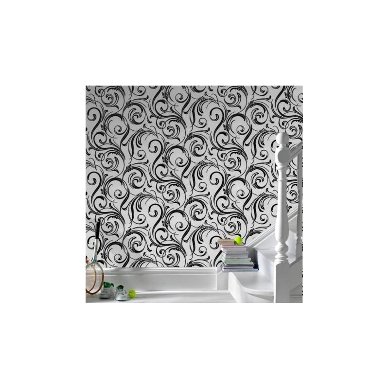 Swurly Wurly Wallpaper Silver Wallpaper Buy Wallpaper Direct 800x800
