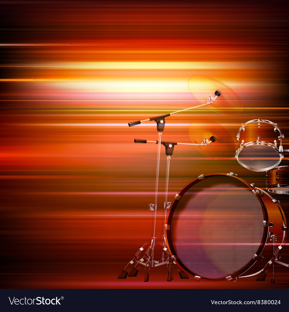 Drums Red Abstract Vector Images 46 1000x1080