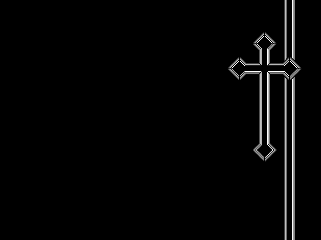 Black Cross Wallpaper by ORANGEMAN80 1024x768
