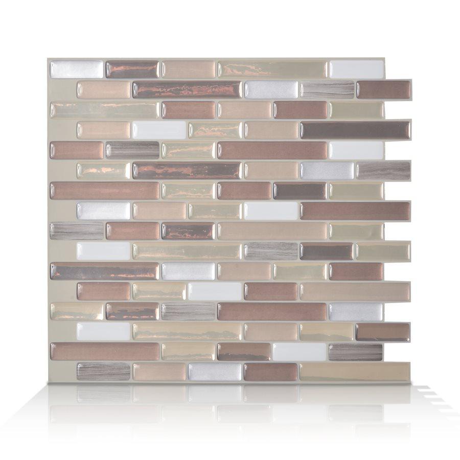 Durango Peel and Stick Vinyl Mosaic Subway Wall Tile Lowes Canada 900x900
