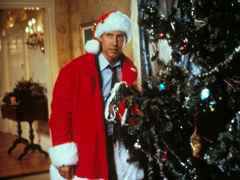 National Lampoons Christmas Vacation   Chevy Chase Fanclub Wallpaper 1024x768