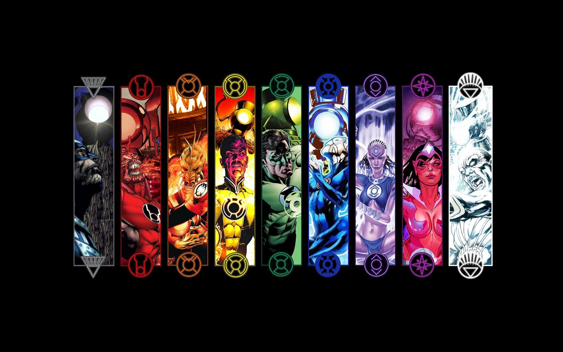 Green Lantern Corps Computer Wallpapers Desktop Backgrounds 1920x1200
