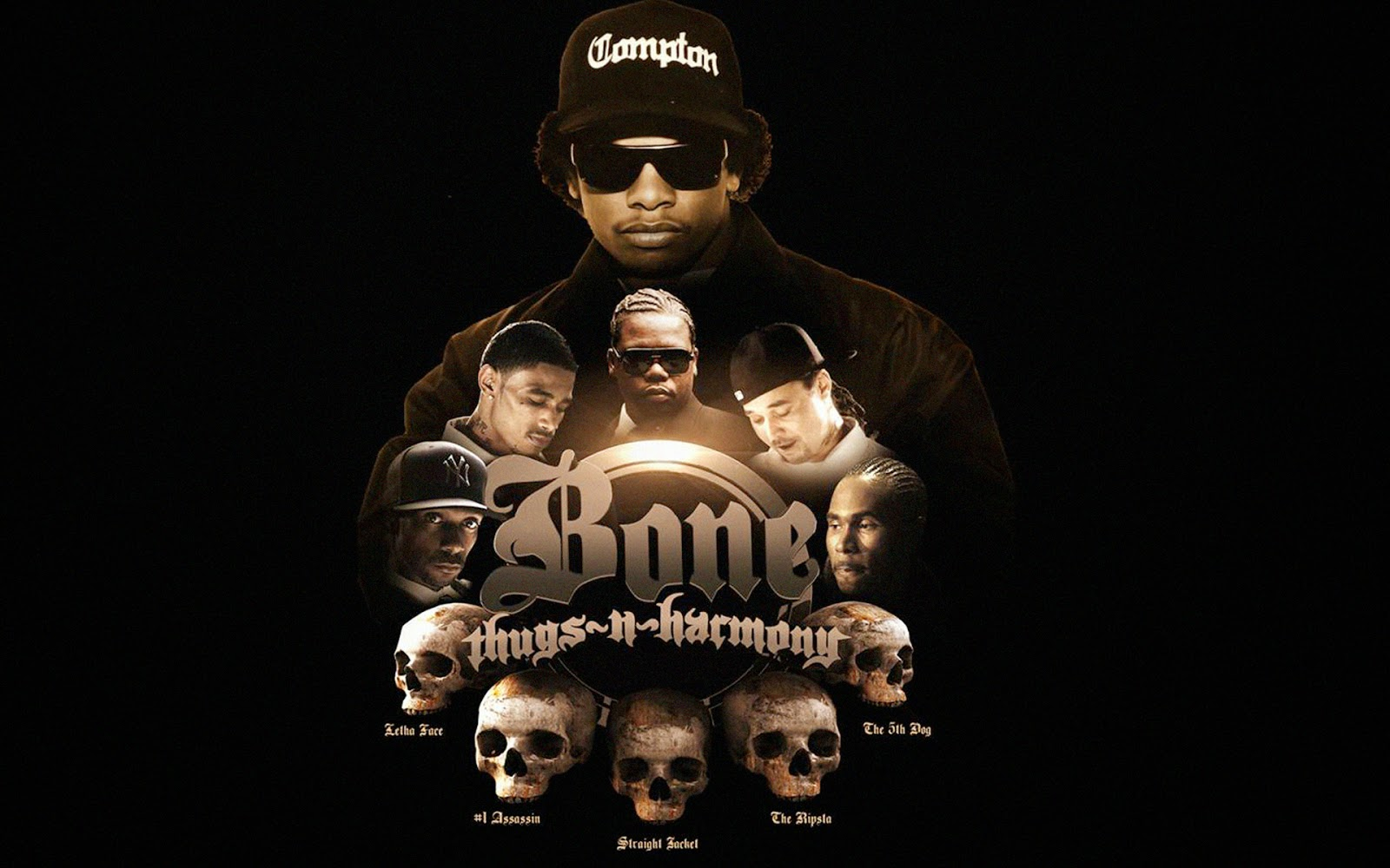 Bone Thugs N Harmony Bone thugs n harmony live in 1600x1000