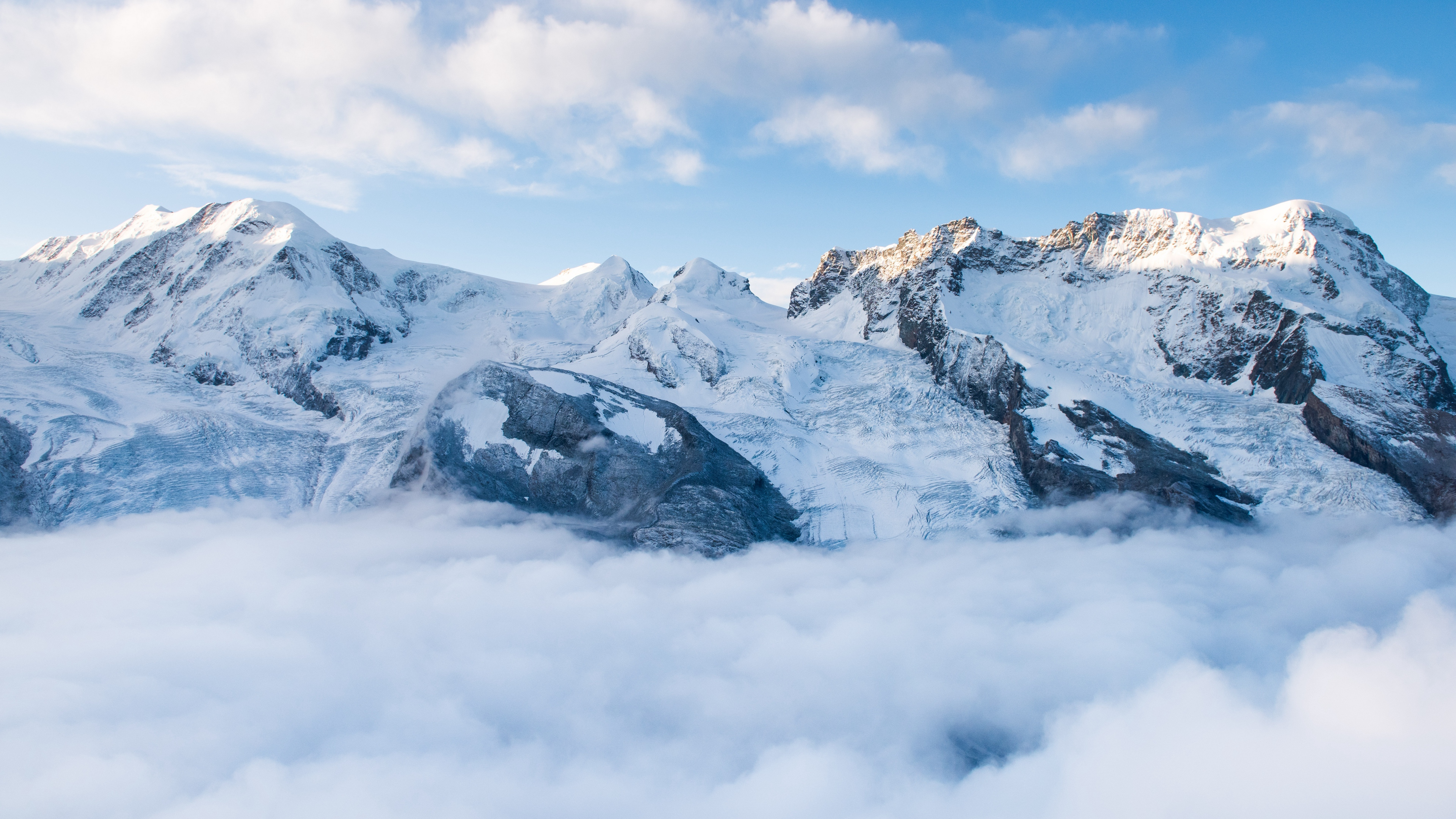 Snow Mountains Wallpapers posted by Sarah Sellers 3840x2160