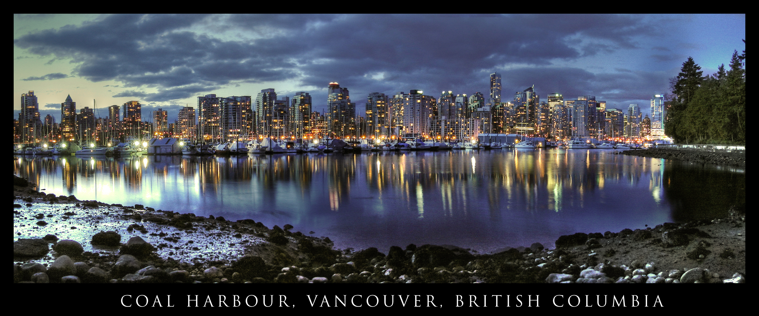 vancouver skyline wallpapers widescreen - photo #10