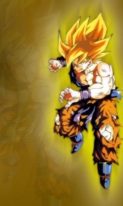 Goku Ssj1 Samsung Mobile Wallpapers 480x800 Hd Wallpaper Download 480x800