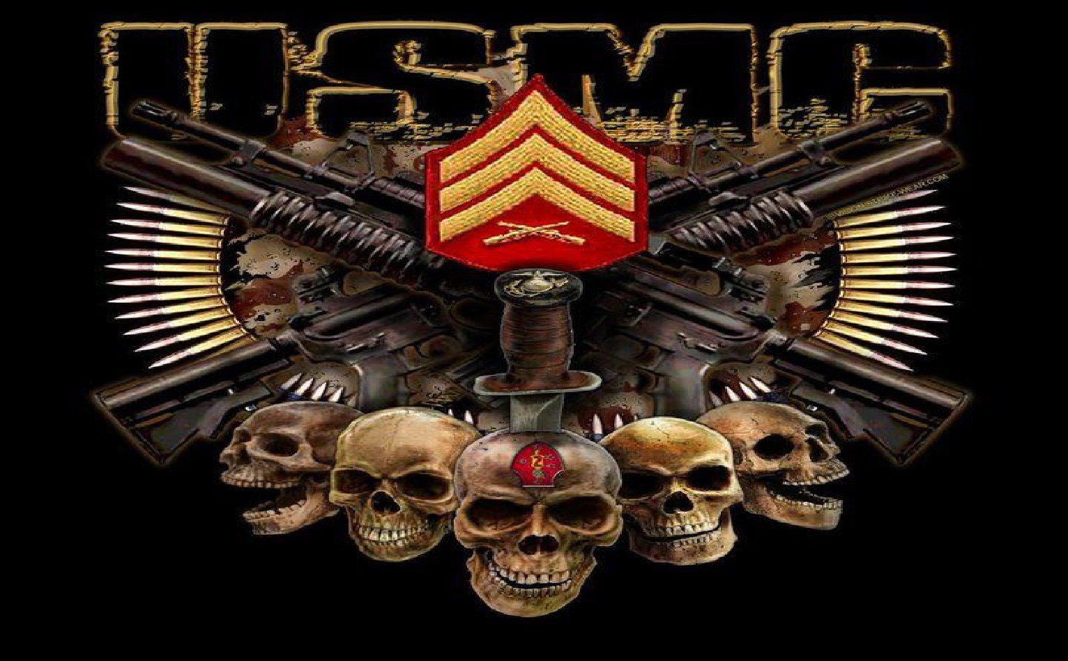 Marines Corps 2nd Recon 1532x949