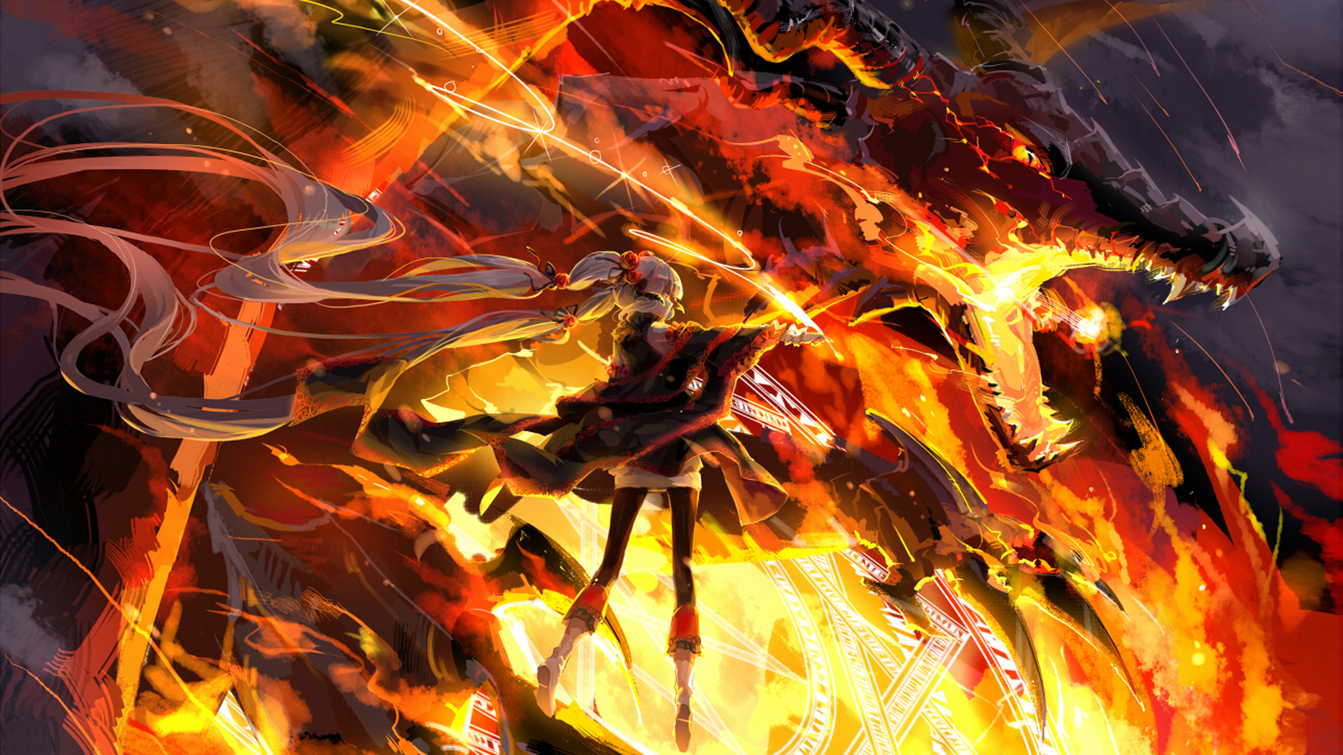 Fire Dragon Wallpaper Hd Images amp Pictures   Becuo 1920x1080
