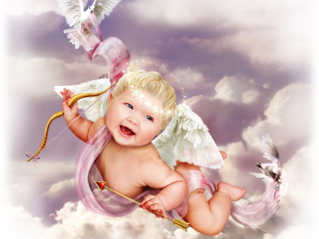 Baby Angel Wallpaper - WallpaperSafari