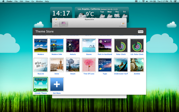 Now you can select a new theme from Theme Store 625x390