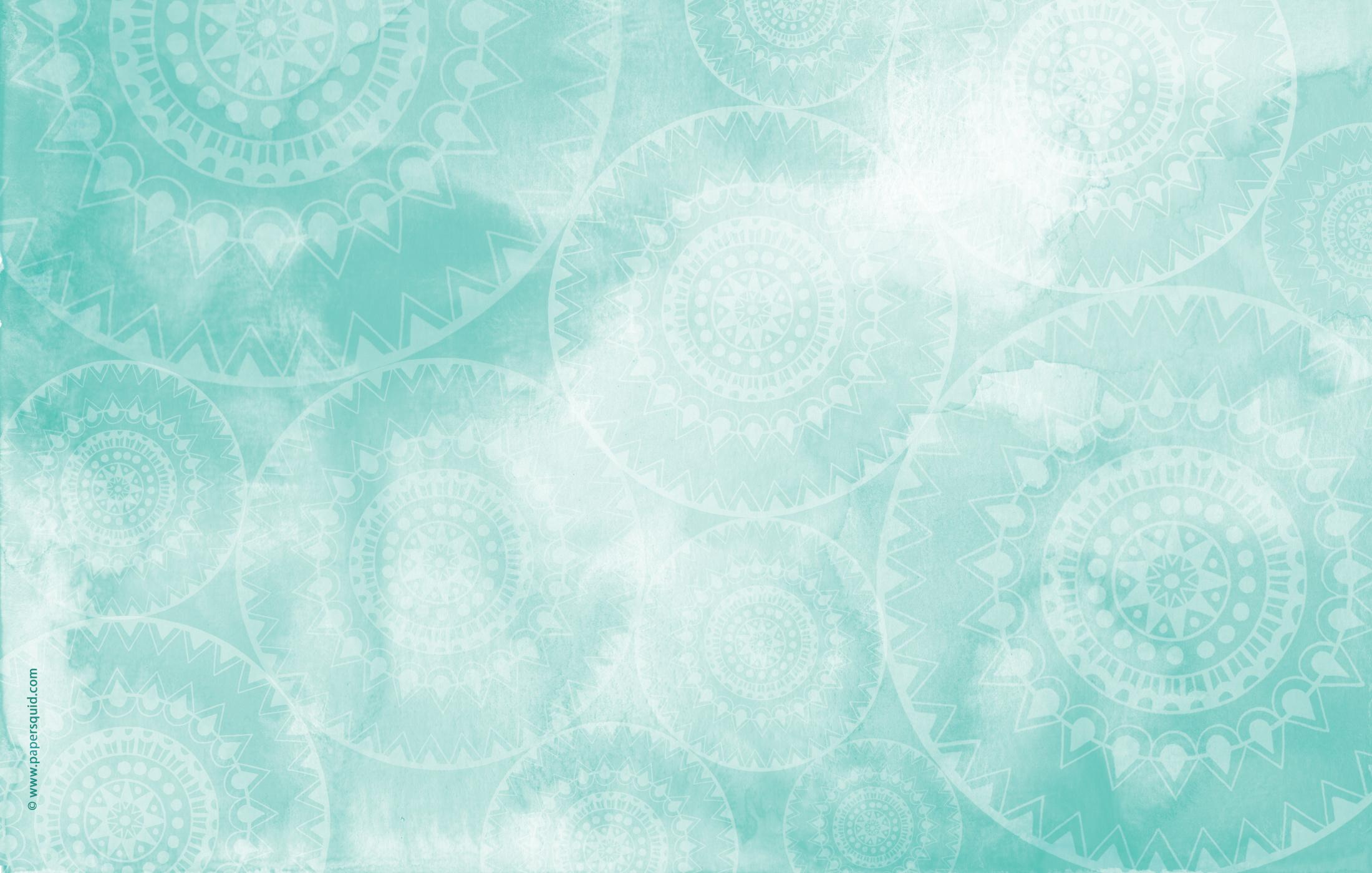 Paper Squid AUGUSTS MANDALA INSPIRED DESKTOP WALLPAPER 2200x1400