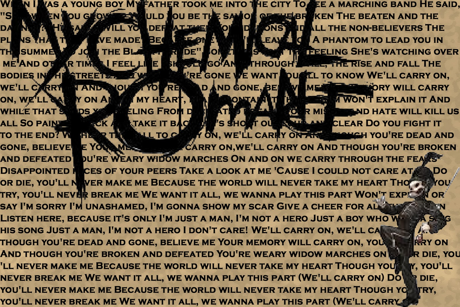 MY CHEMICAL ROMANCE wallpaper ALL ABOUT MUSIC 1600x1067
