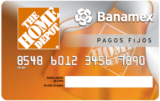 Pagos Fijos The Home Depot Banamex es la solucin de financiamiento a 521x328