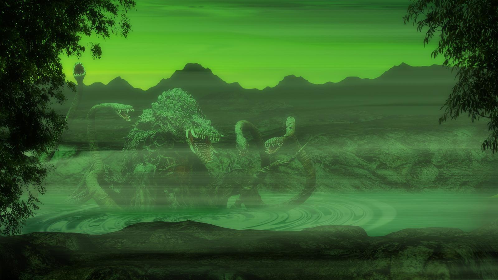 Biollante   Skull Island by Awesomeness360 1600x900