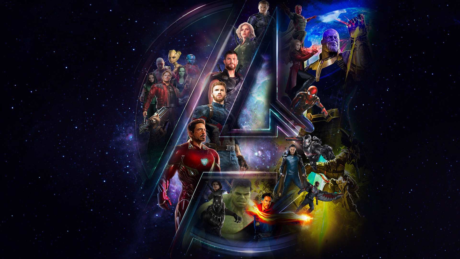 Avengers Infinity War HD Wallpaper Background Image 1920x1080 1920x1080