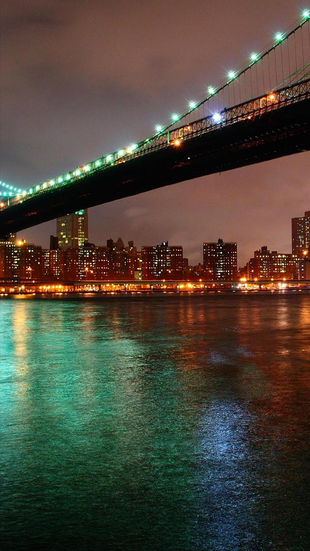 Brooklyn Bridge 3Wallpapers iPhone 5 Les 3 Wallpapers iPhone du jour 640x1136