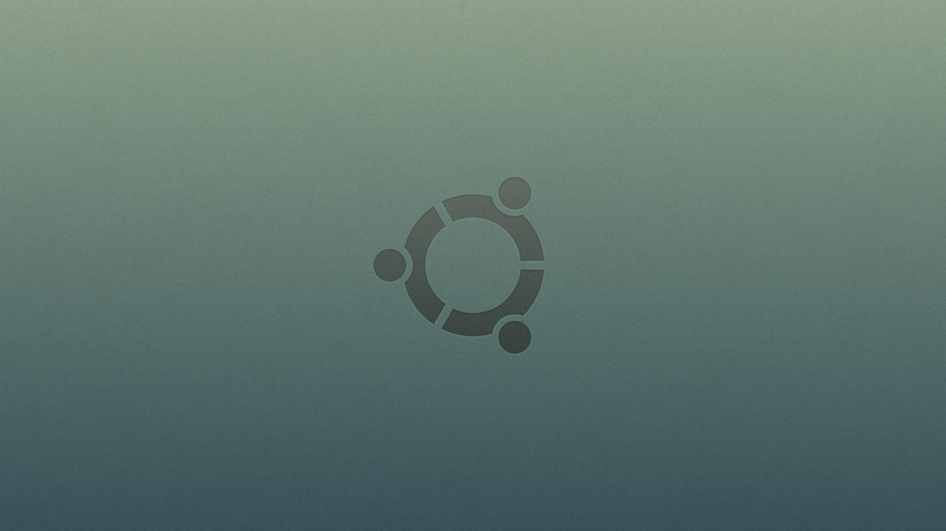 Ubuntu logo   1366x768 1366x768