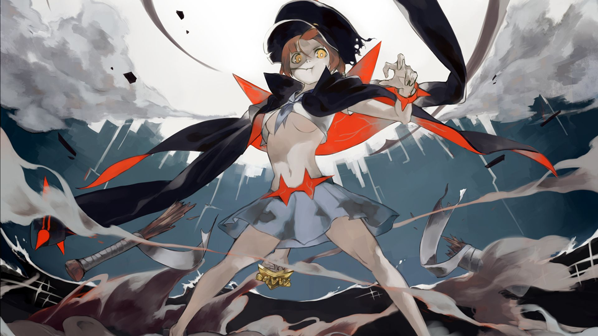 Image result for kill la kill wallpaper mako Kill La Kill Kill 1920x1080