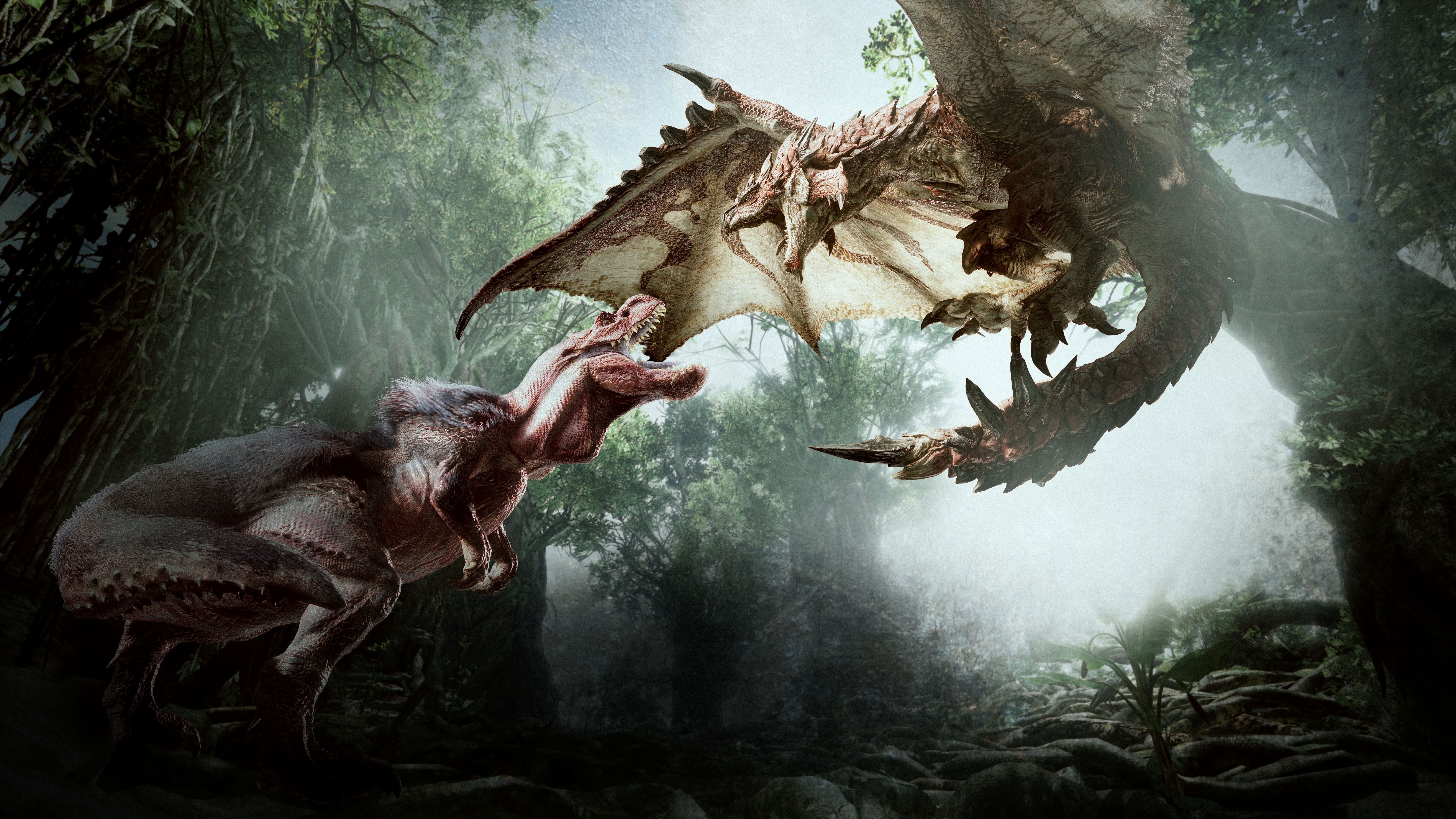 25 Monster Hunter World HD Wallpapers Background Images 6712x3776