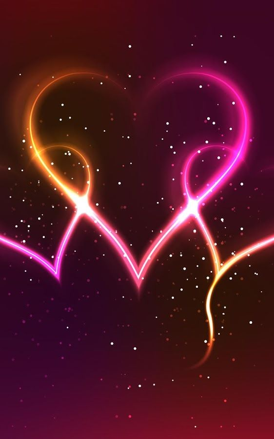 Neon Hearts Live Wallpaper   Android Apps on Google Play Images 562x900
