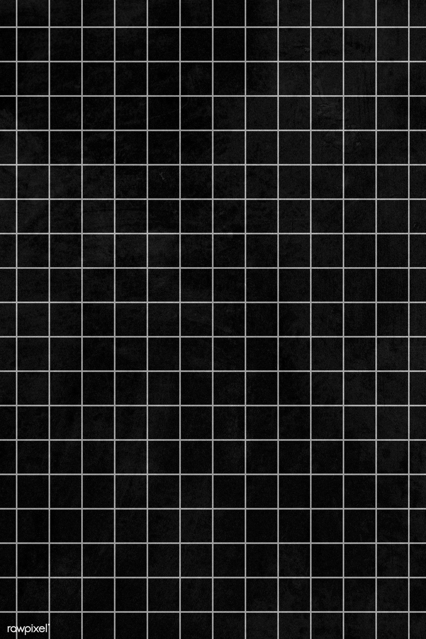 Download premium illustration of Gray grid line pattern on a black 1400x2100