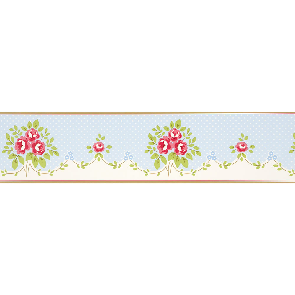 Free Download Floral Bouquet Whitewell Boutique Wallpaper Border