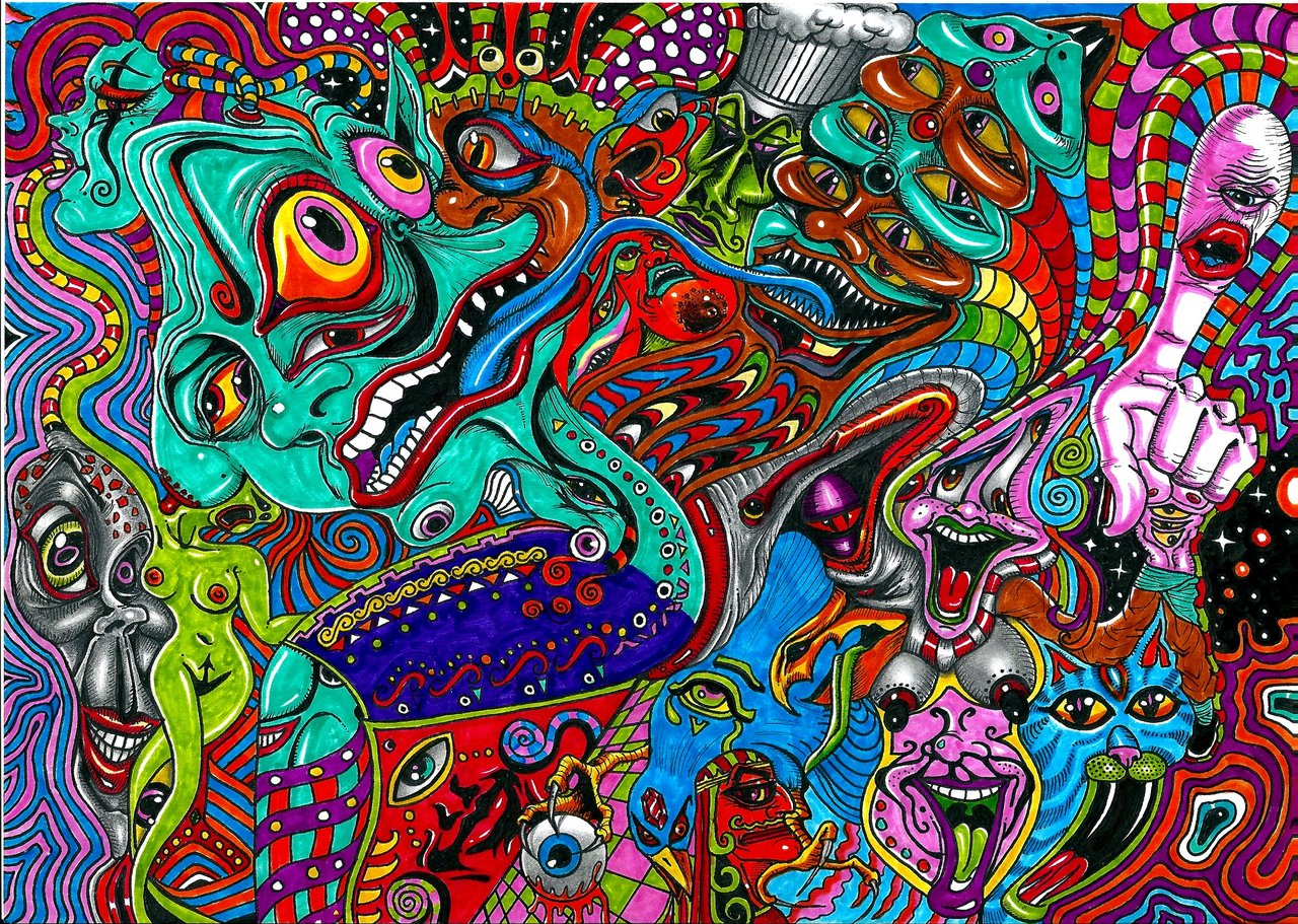 Acid Trip Wallpaper Picture 1280x911