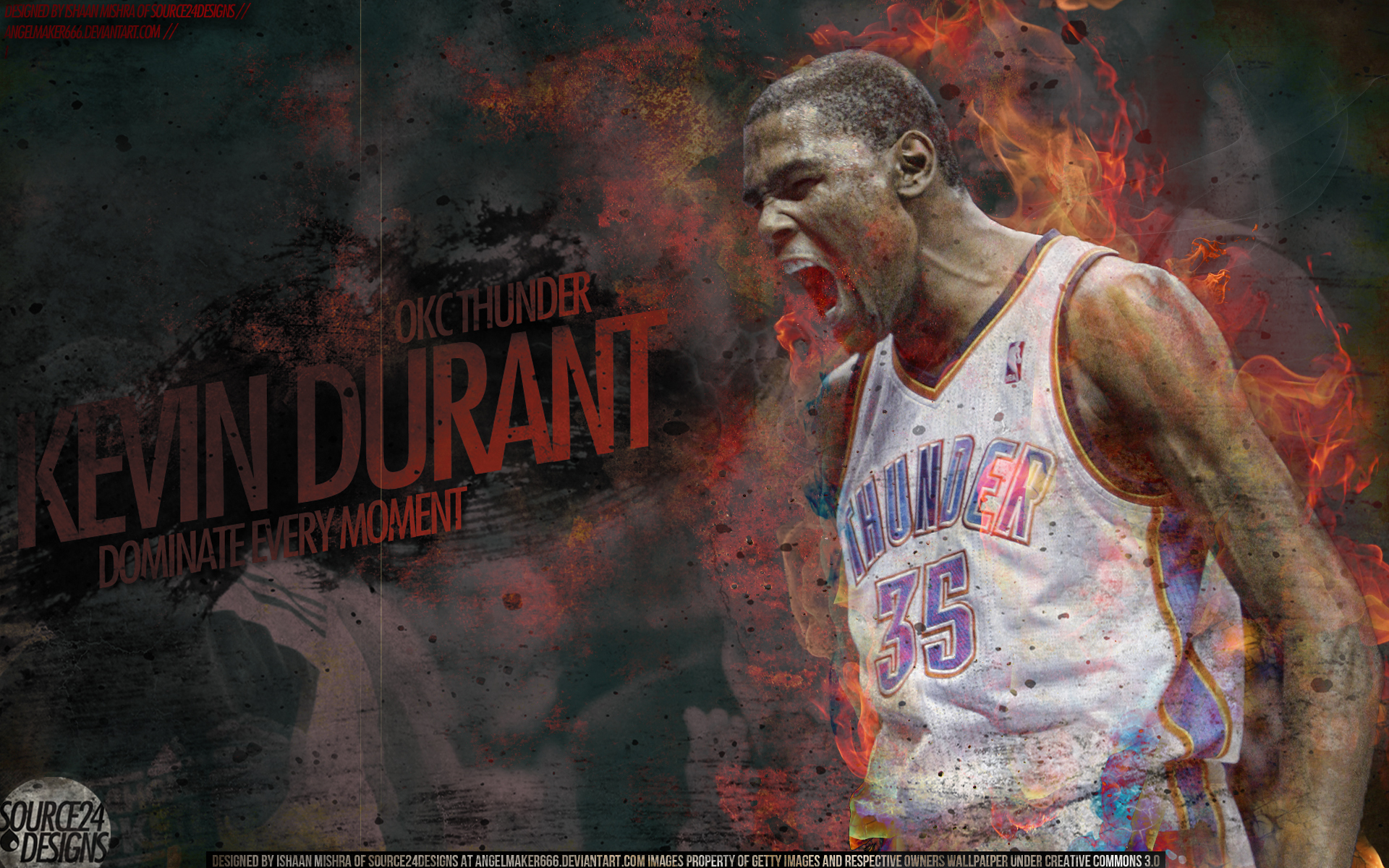 Kevin Durant Wallpaper by IshaanMishra 1920x1200