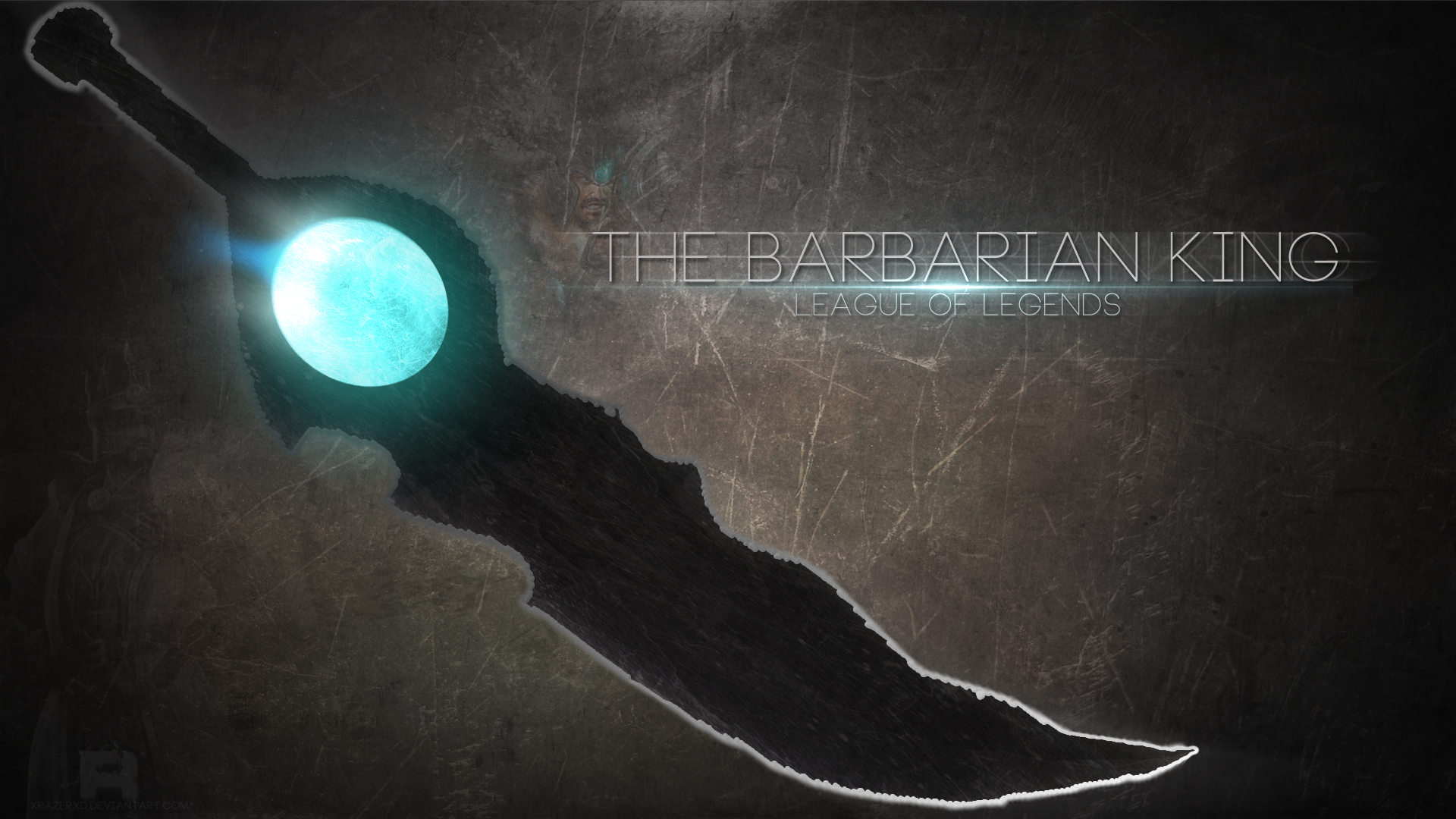 The Barbarian King Fan Art   League of Legends Wallpapers 1920x1080