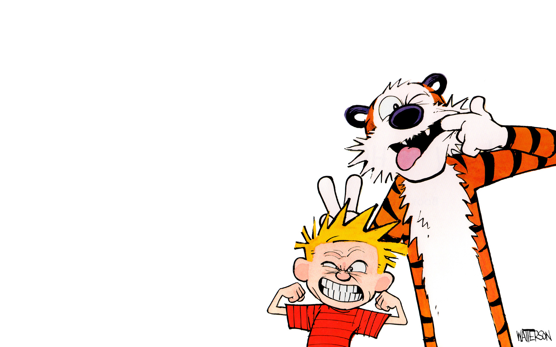 28 Hi Def Calvin and Hobbes Wallpapers 1920x1200