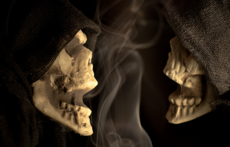 Wallpaper halloween macro scary Skeleton Chatter Skeleton 1332x850