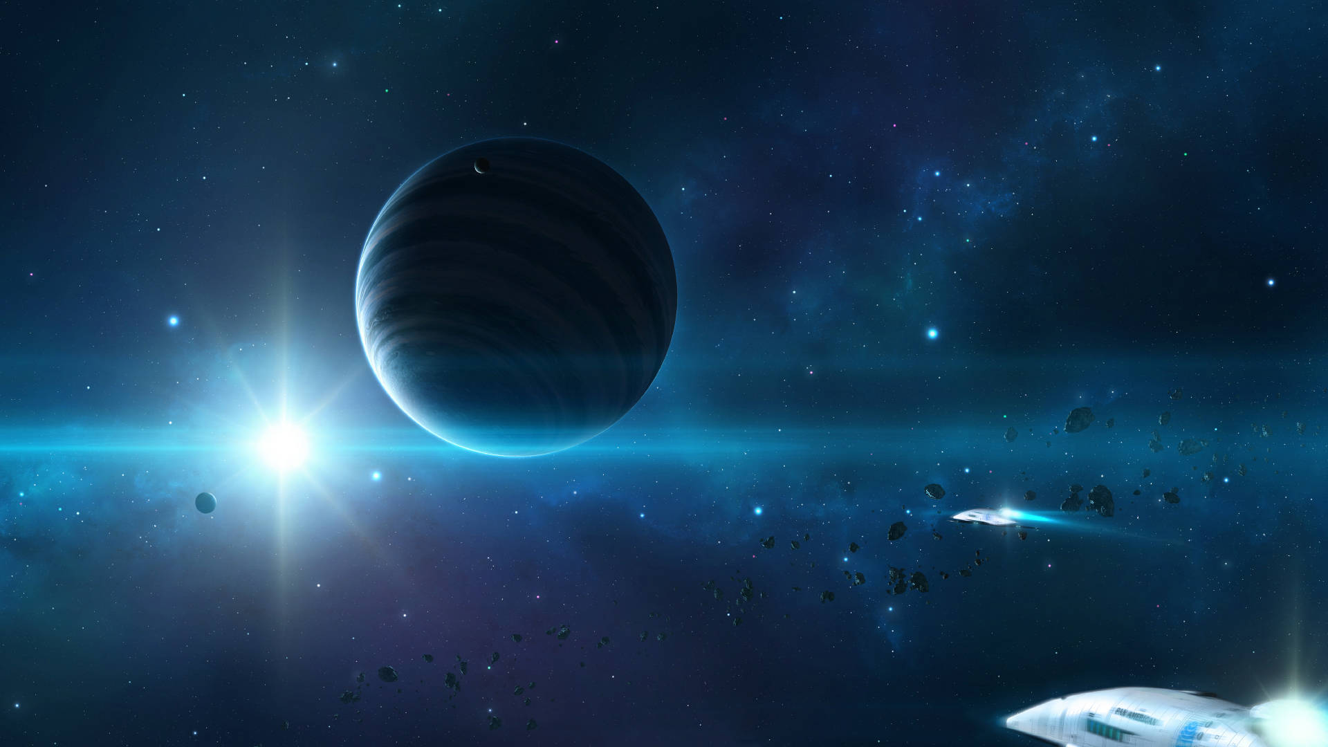 Outer Space HD wallpapers 1920x1080