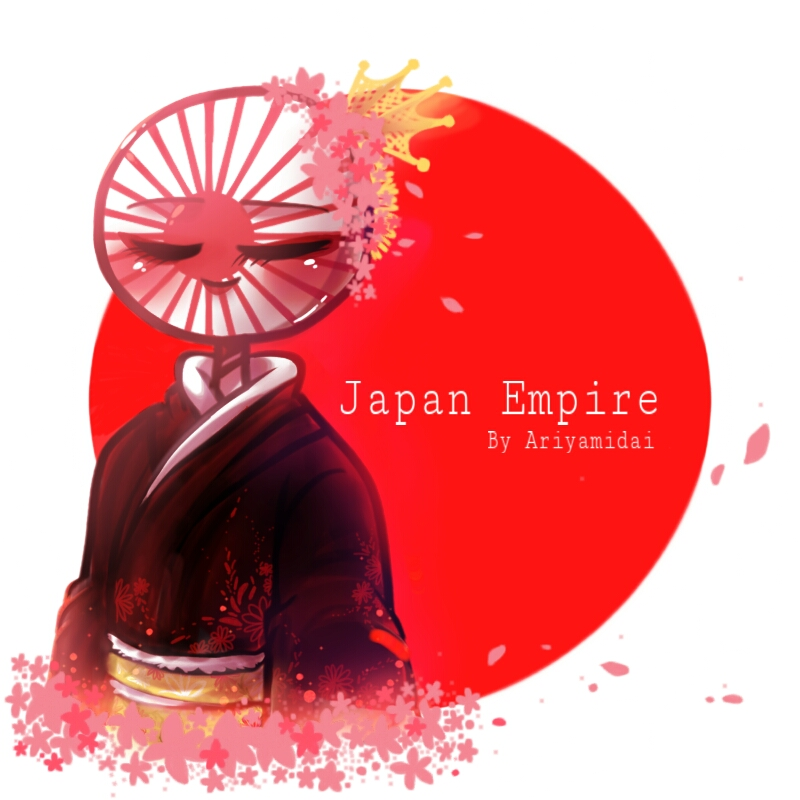 Countryhumans Japan Empire by Ariyamidai 800x800
