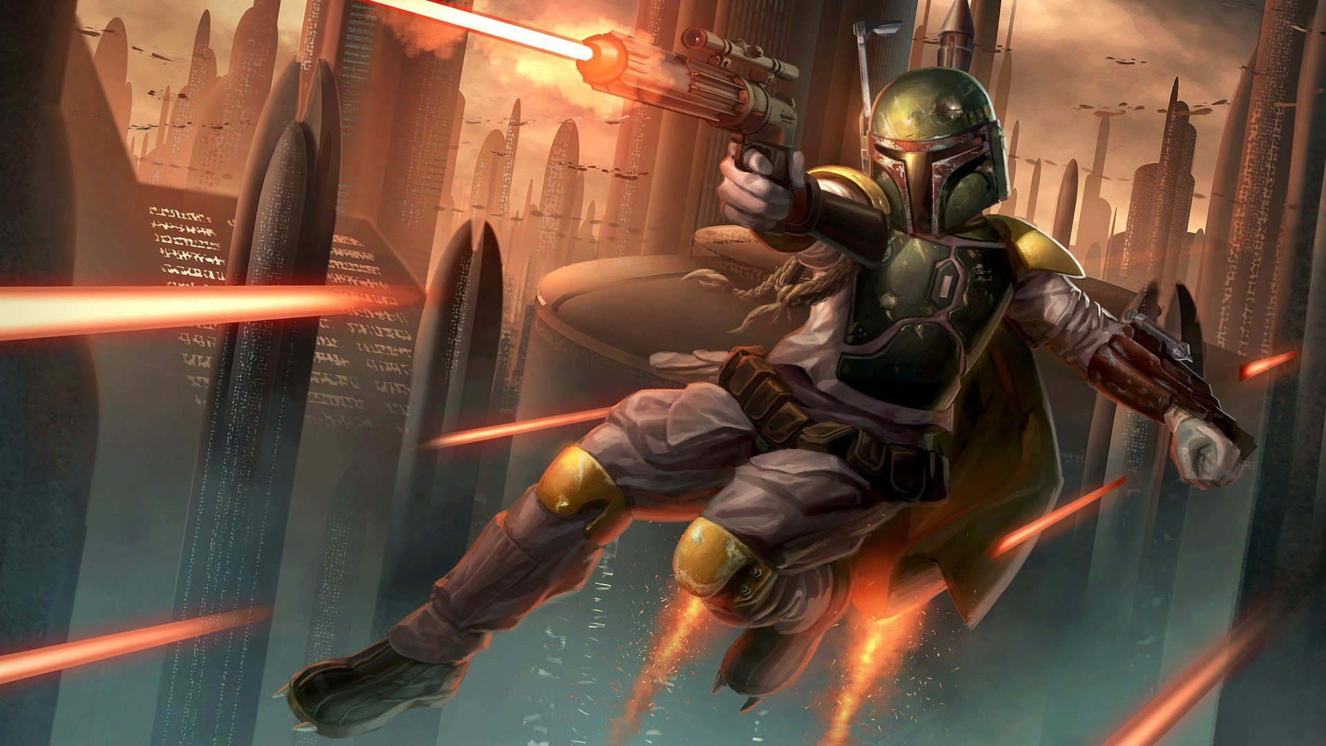 Free Download Boba Fett Star Wars Hd Wallpaper Background 35439 Wallur 1920x1080 For Your Desktop Mobile Tablet Explore 38 Star Wars Boba Fett Background Star Wars Boba Fett Background