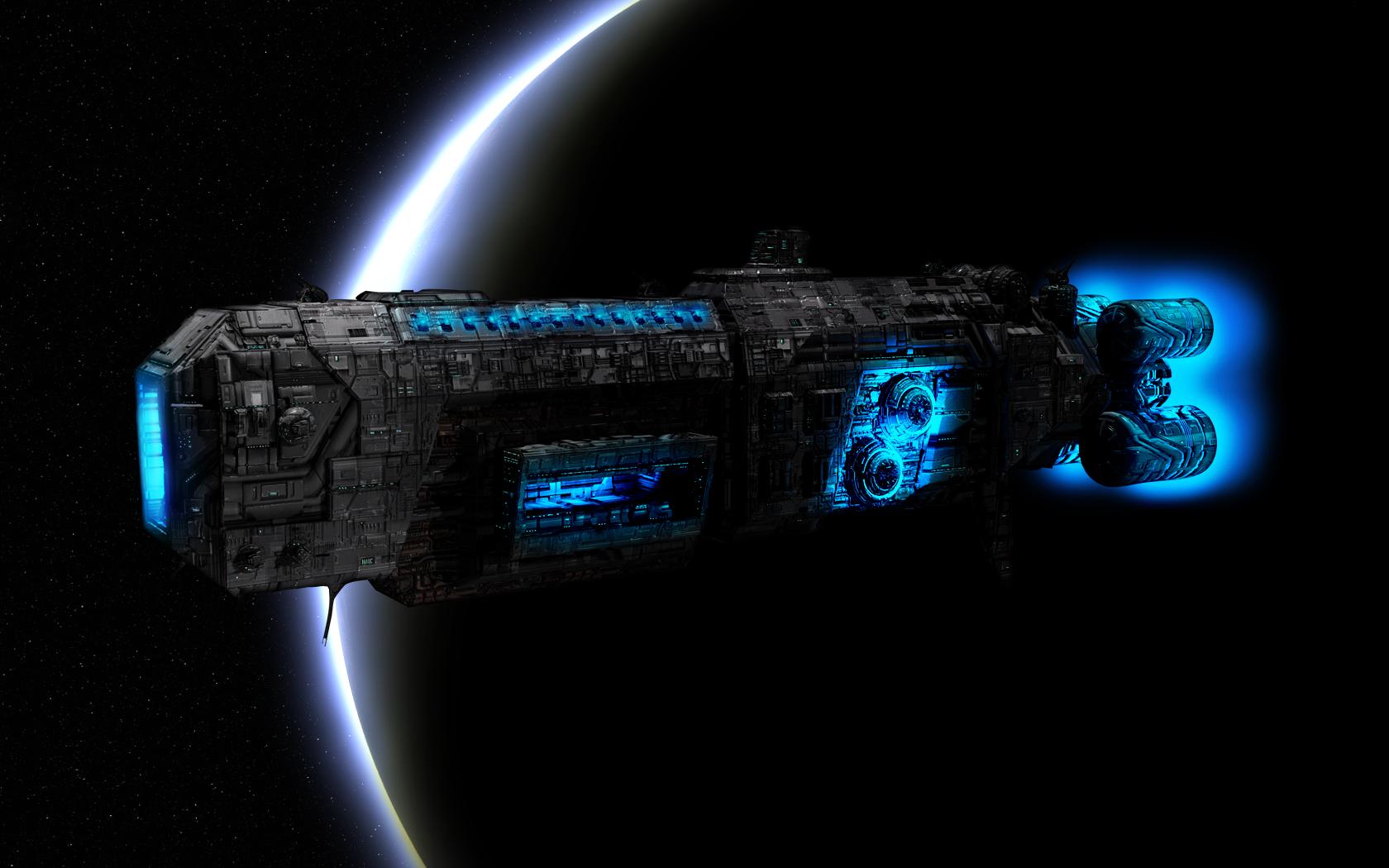 Spaceship Computer Wallpapers Desktop Backgrounds 1680x1050 ID 1680x1050