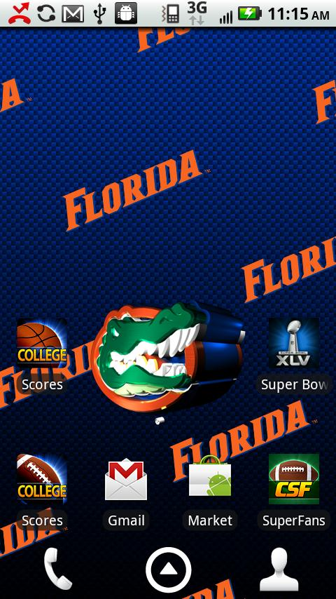 Florida Gators Live Wallpaper   Android Apps and Tests   AndroidPIT 480x854