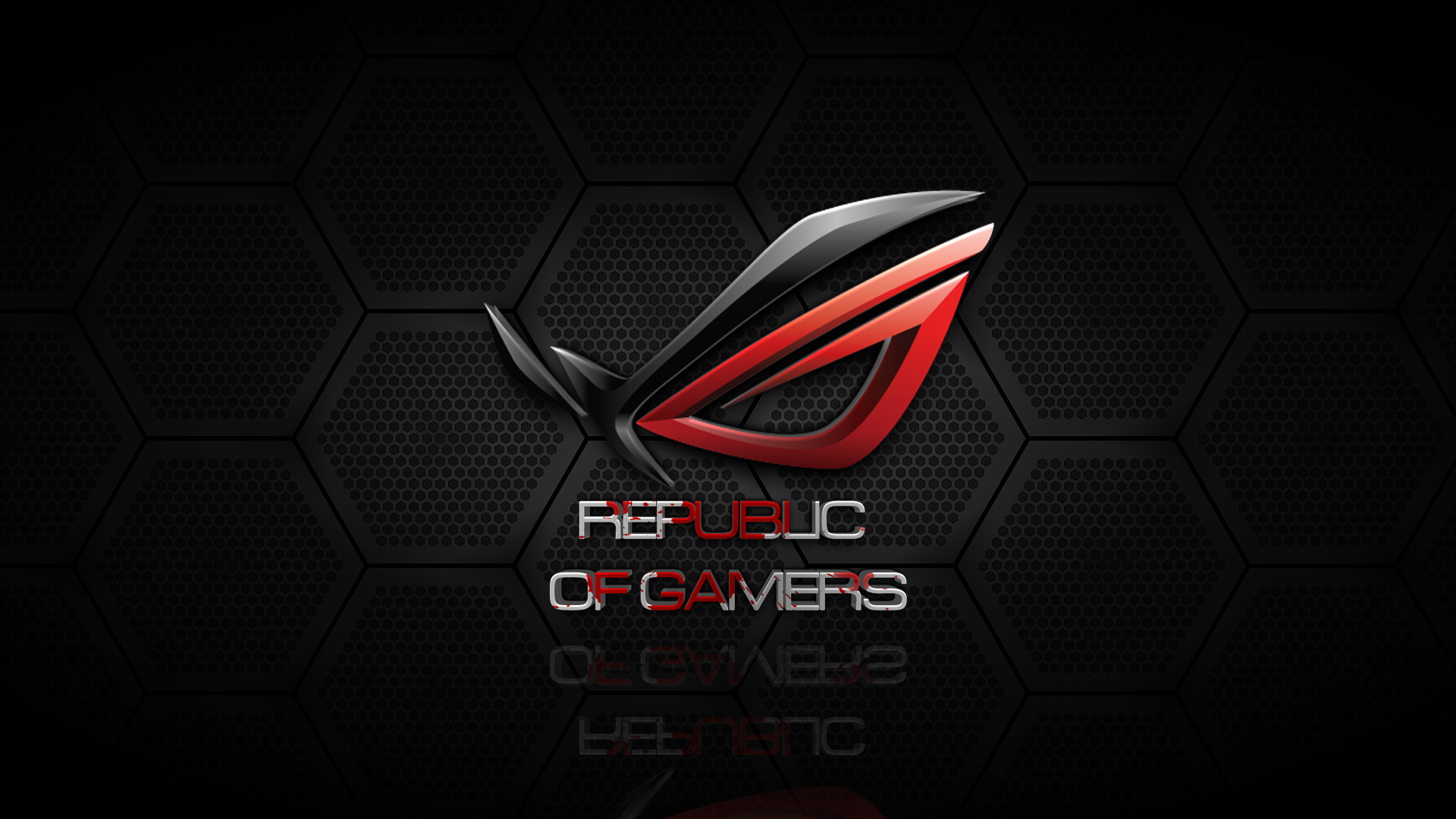 Red Asus Wallpaper: ROG Wallpaper Full HD