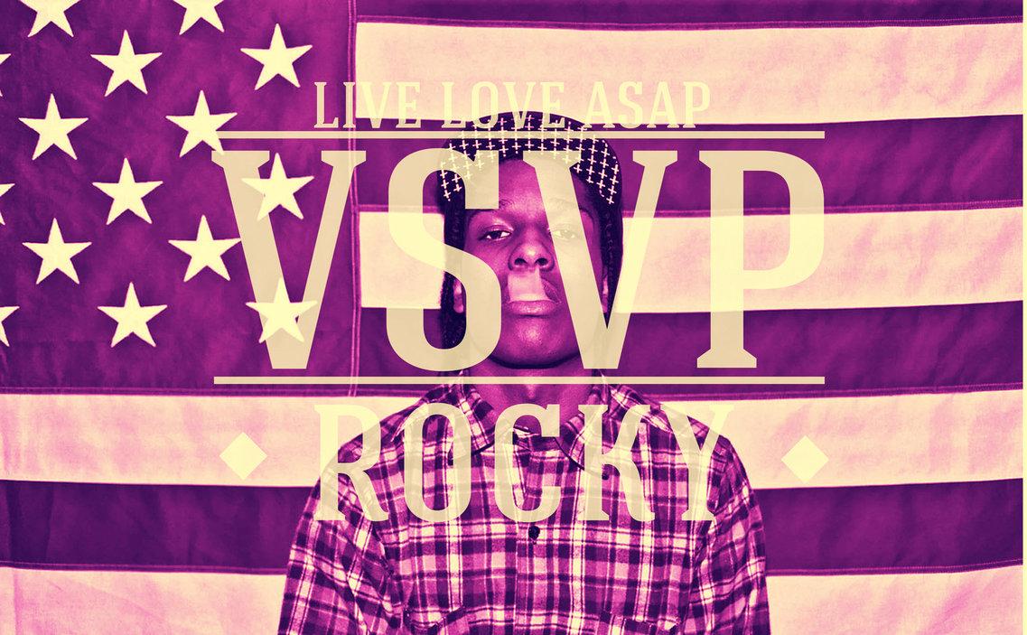 ASAP Rocky Flag VSVP Rap Wallpapers 1137x703