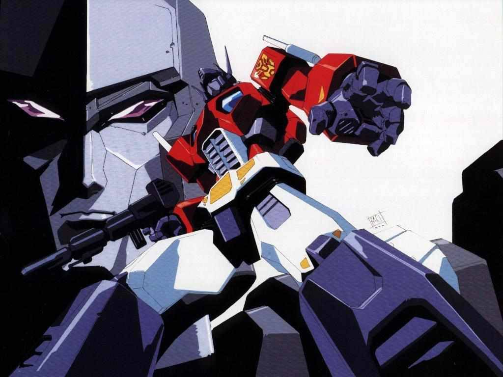 megatron and oprtimus prime classic   Transformers Wallpaper 1024x768