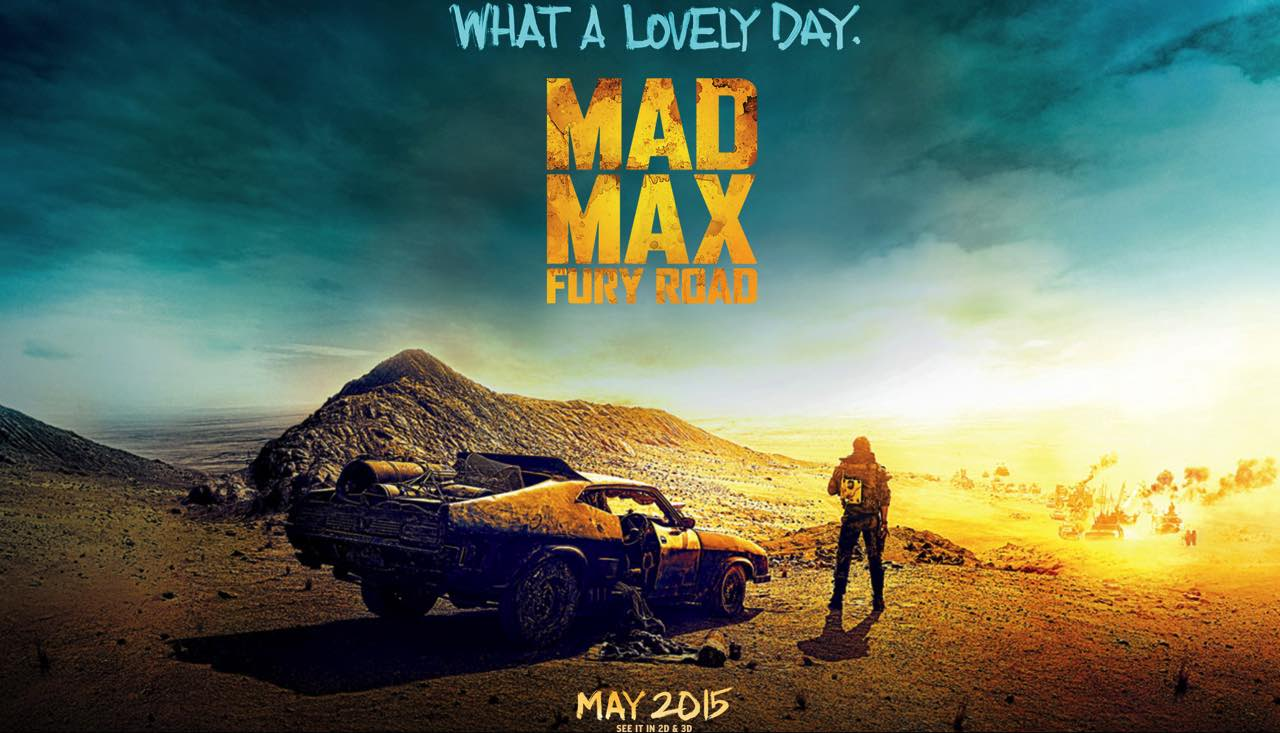 Mad Max Road Fury Poster Wallpaper HD 1280x733