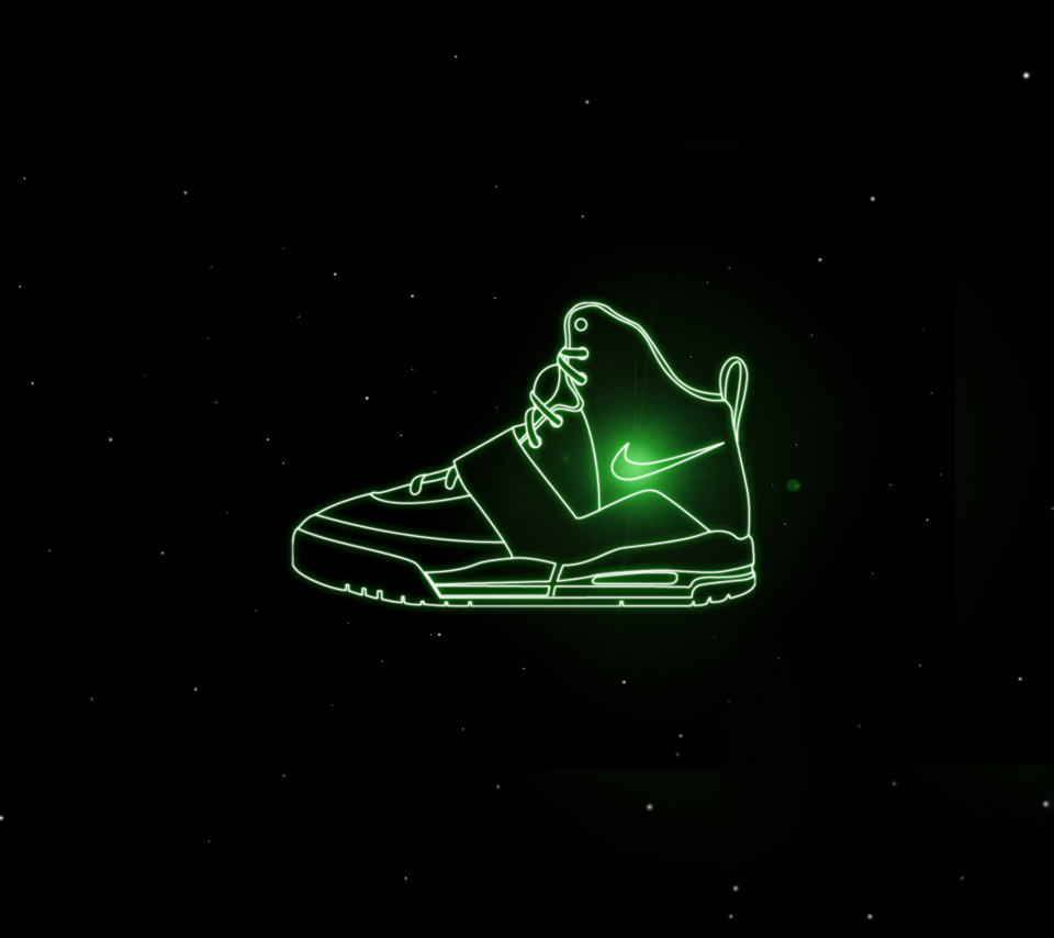 Nike Logo Green Wallpaper Otherbrandnikelogoblack 960x854