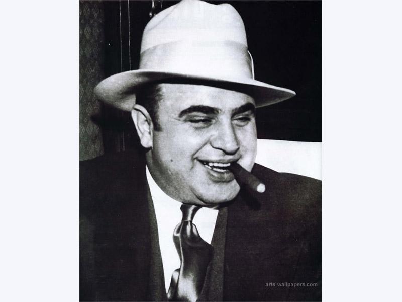 Alphonse Scarface Capone - Fotos, Novedades, Información de la web