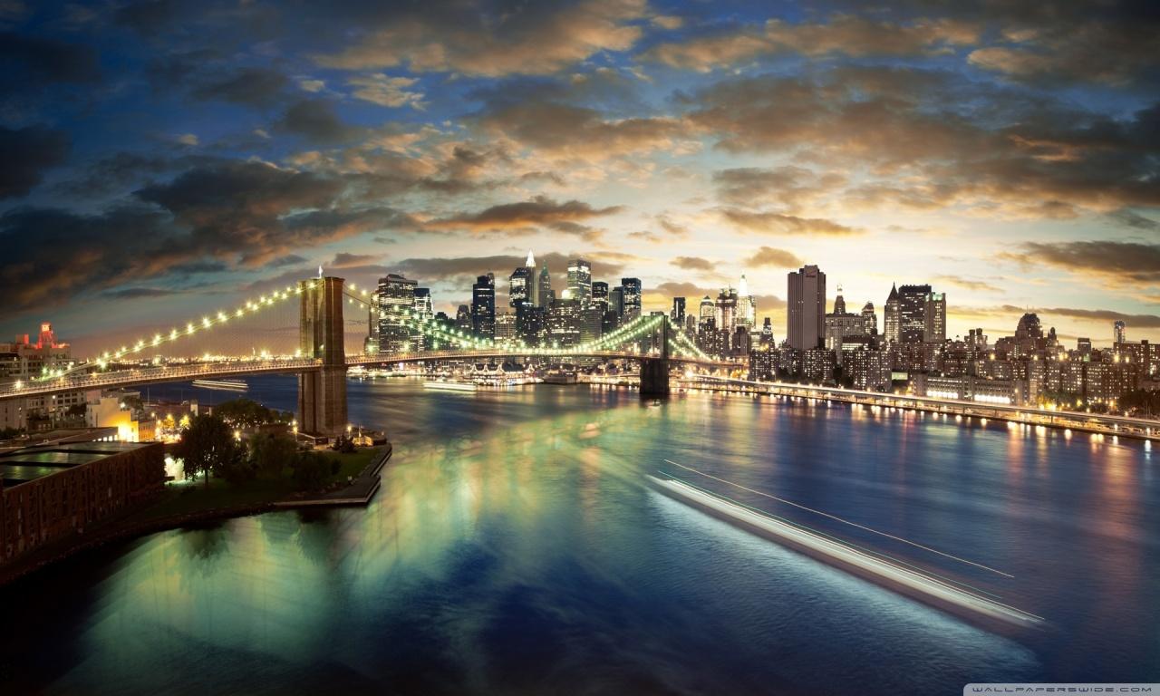 New York City Desktop Wallpaper for Desktop   Magic4Wallscom 1280x768