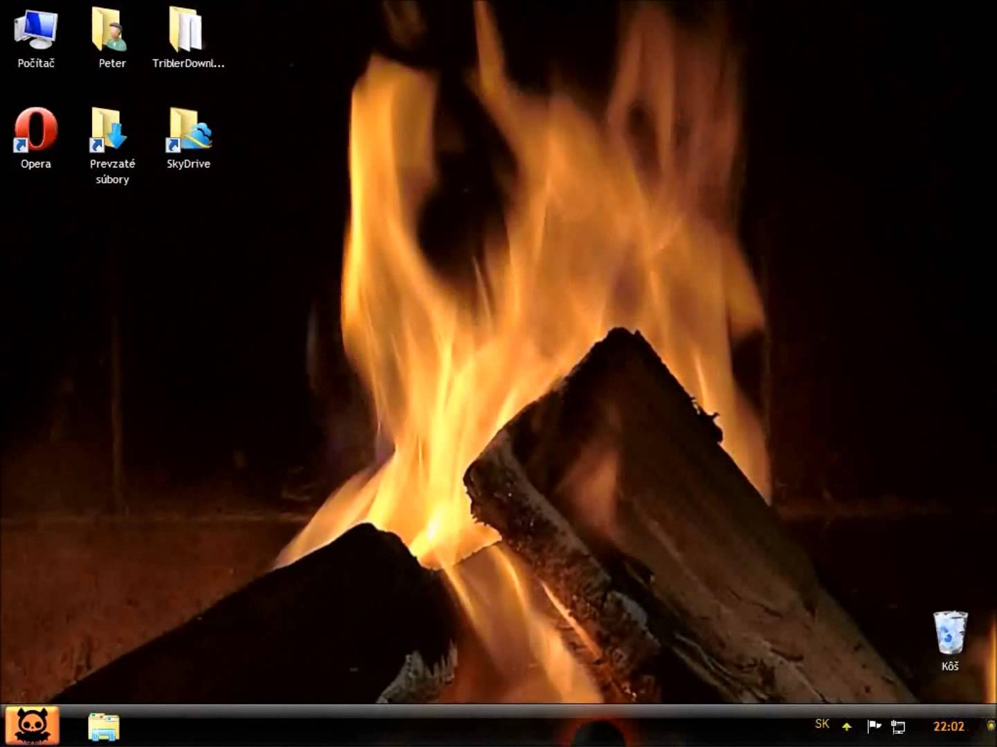 DeskScapes   Animated Desktop Wallpaper   Cozy Fire 1440x1080
