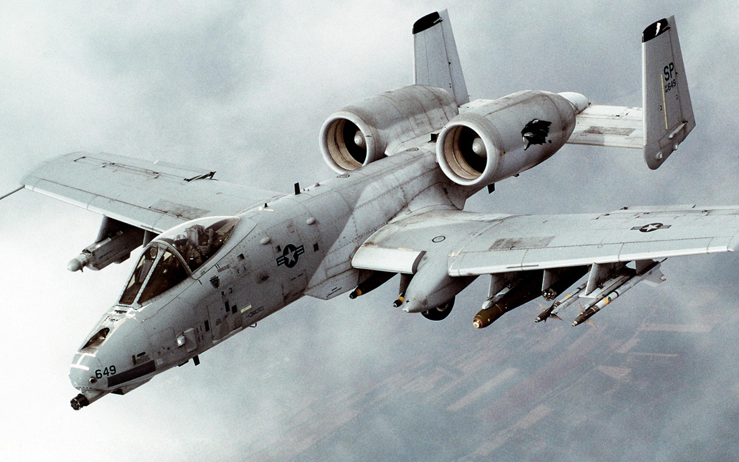 warthog a10 thunderbolt ii Wallpaper Wallpapers Download 2560x1600