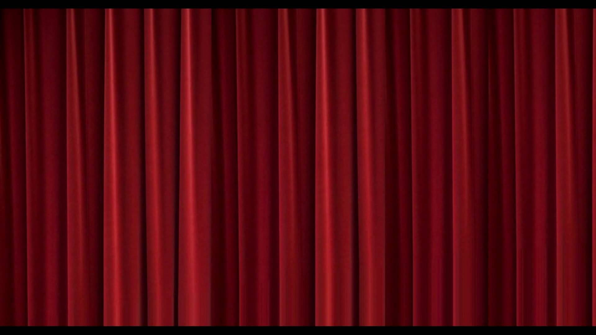 Home Theater Movie Curtains Animated   1080p High Def 1920x1080