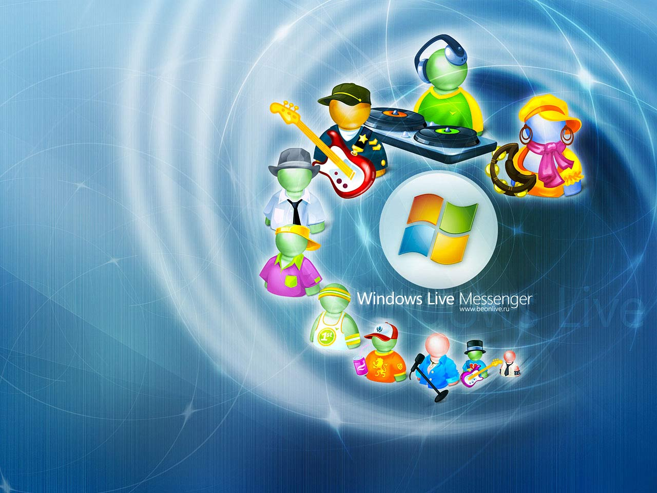 Windows Live Messenger : Tous Les Wallpapers Windows Live Messenger .