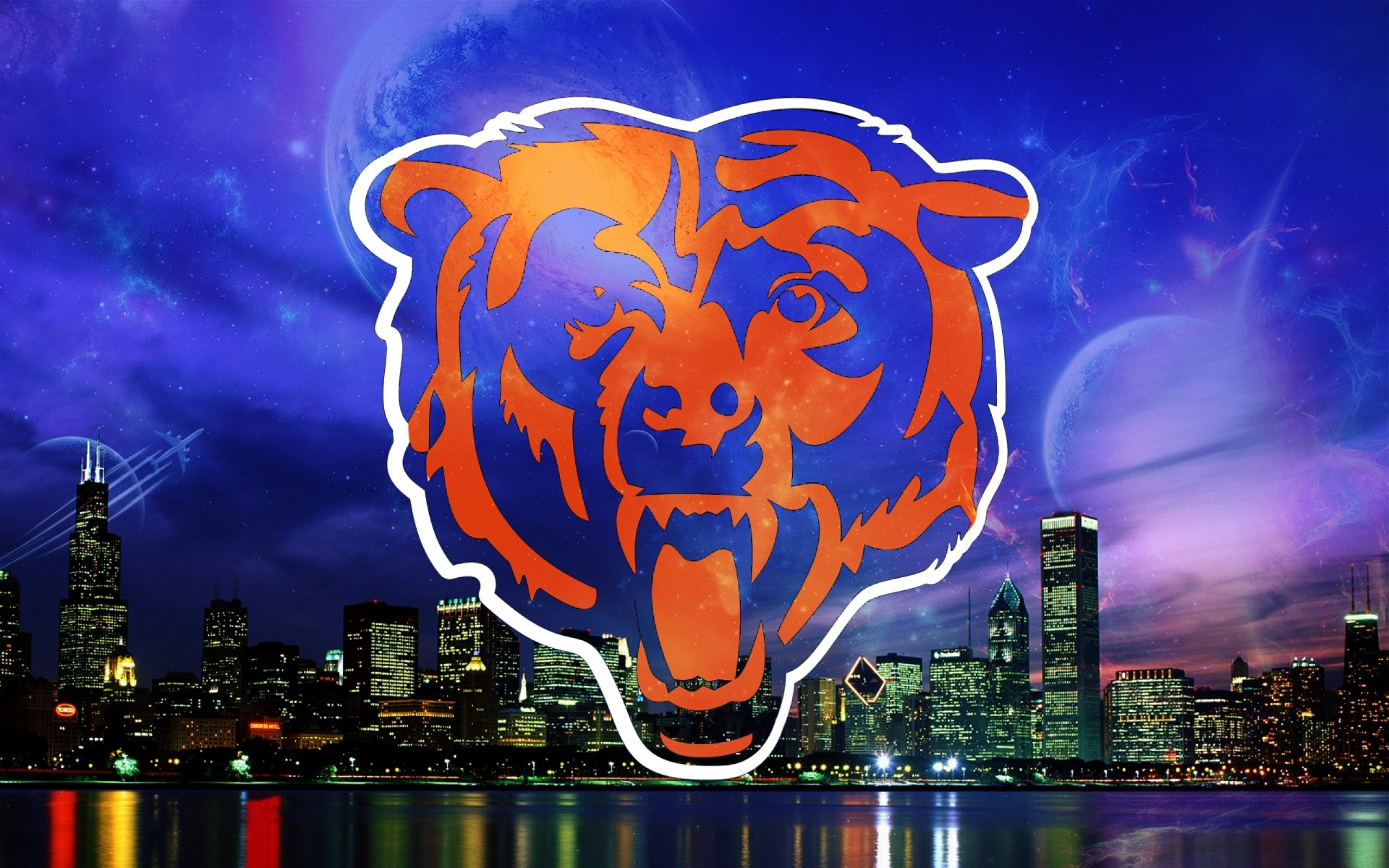 wallpaperwiki Pictures HD Chicago Bears Wallpaper PIC 2560x1600