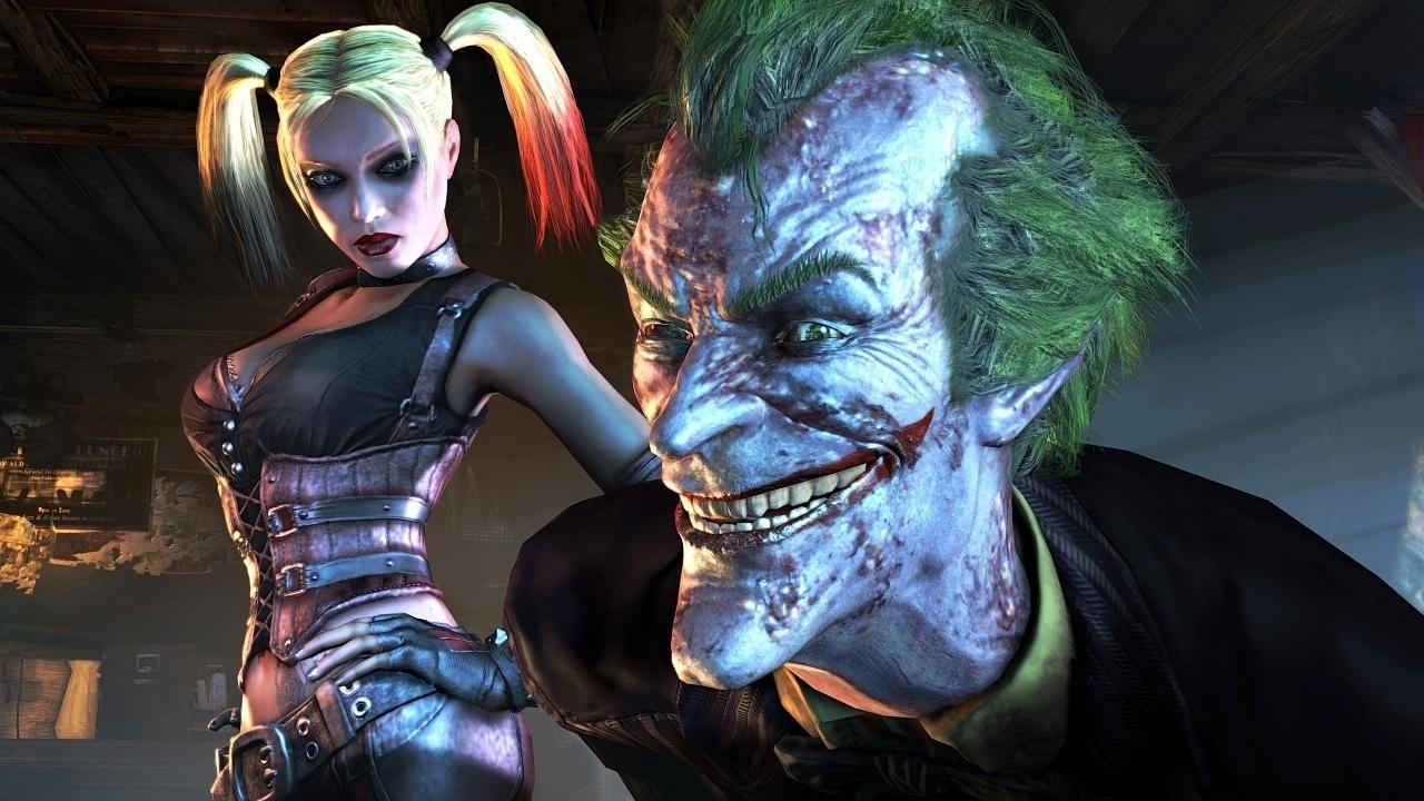 The Joker and Harley Quinn   Batman Arkham City Wallpaper 19914471 1280x720